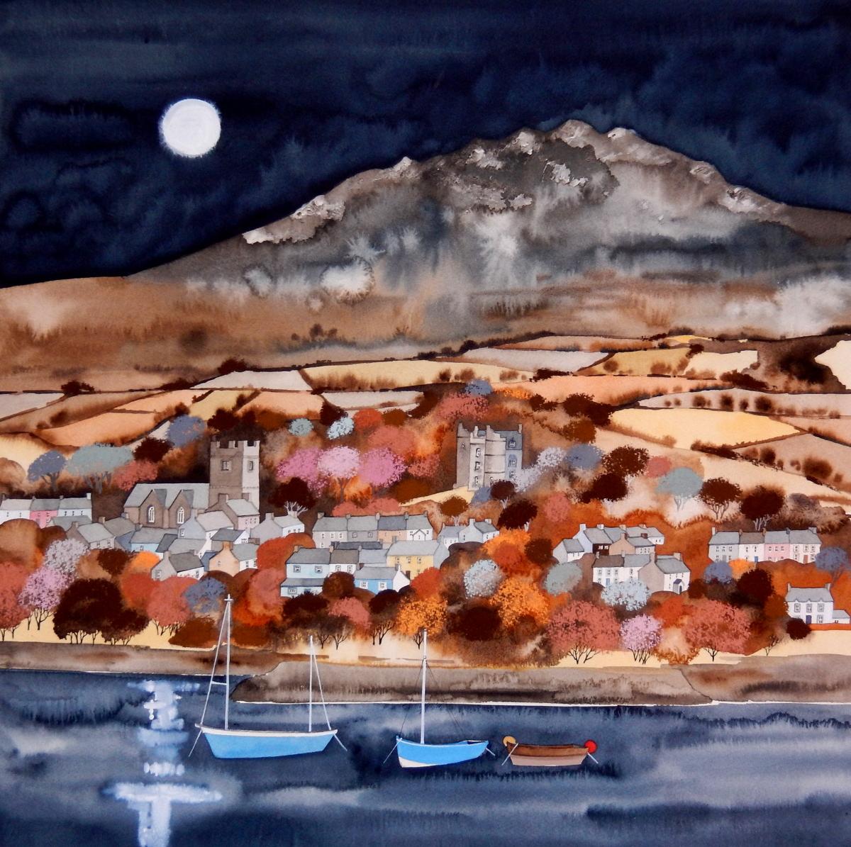 Newport in the Moonlight