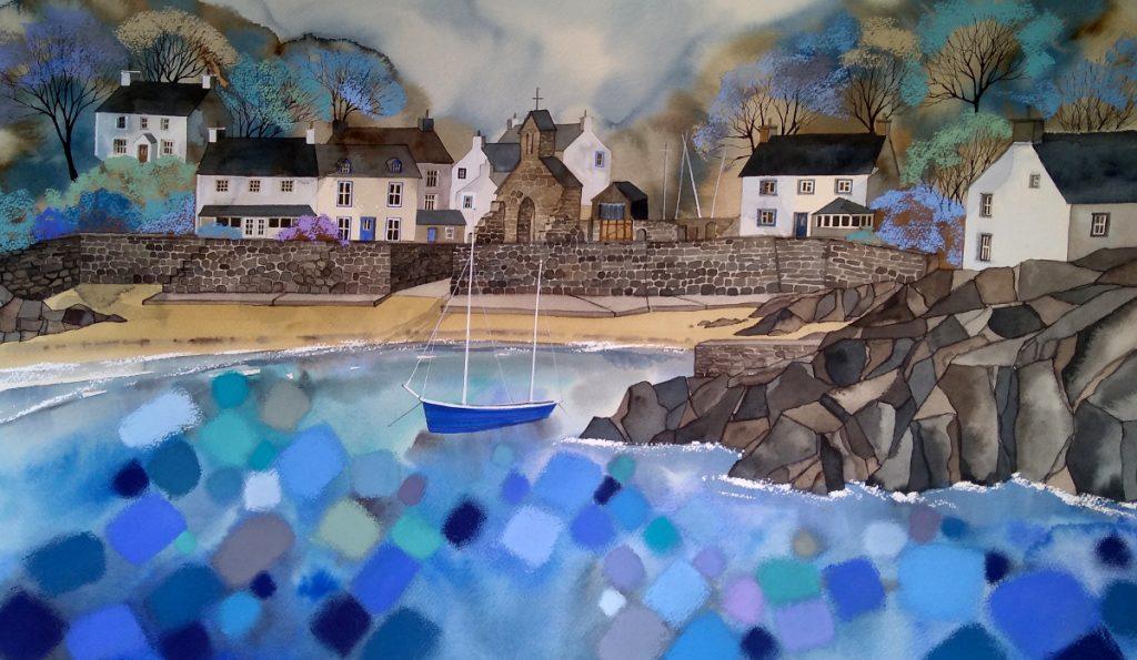 Chequered Sea Cwm Yr Eglwys